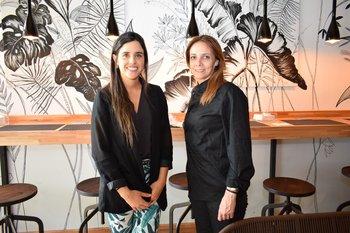 Soledad Stefani y Andrea Delgado