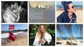 Algunas de las postales célebres de este verano: Pico y Pampita, la lectura Claudia Fernández, Accardi en La Pedrera, Venegas en Pocitos, Camila Rajchman y la vista de Siciliani