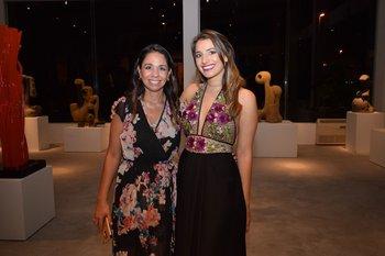Eliana Nieves y Mariella Lugano