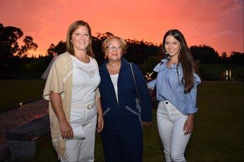 Monica Modernell, Higinia Soria y Lucia Marandino
