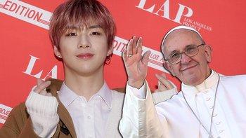 Kang Daniel logró antes que el papa Francisco tener más seguidores en Instagram.