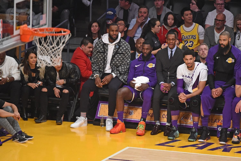 LeBron se perderá otros tres partidos y los Lakers lo sufren
