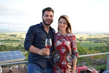Martin Romay y Alicia Subismendi