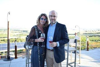Tina Garrett y Pablo Piras