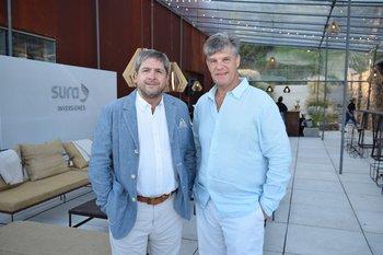 Álvaro Amoretti y Diego Baldomir