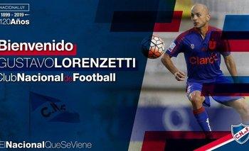 Gustavo Lorenzetti es la cuarta incorporación de Nacional