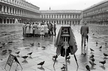 Plaza de San Marcos, Venecia, 1978.