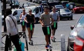 Uber ha invertido recientemente en Lime, una compañía de alquiler de scooters eléctricos y bicicletas
