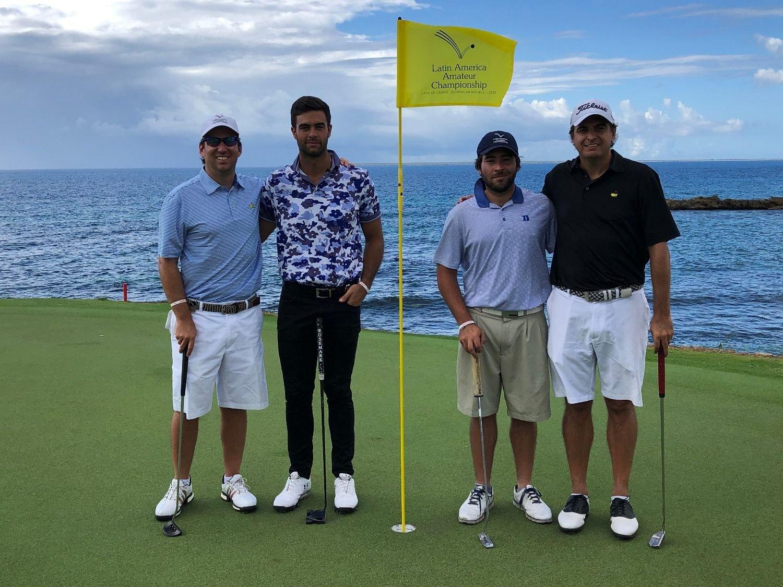 Cinco golfistas peruanos en el Latin America Amateur Championship 2019