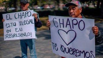 """En México hay hasta quienes piden que """"El Chapo"""" sea liberado de Estados Unidos"""