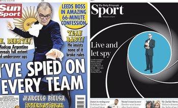 El espionaje de Marcelo Bielsa fue motivo de bromas en la prensa británica