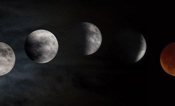 El eclipse total de luna de la noche del 20 de enero será visible en todos los países de América Latina