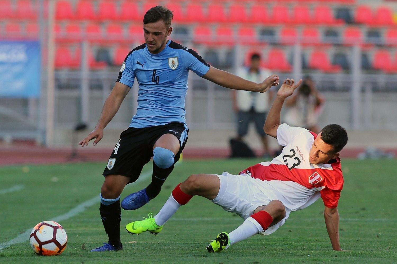 Debut complicado en el Sudamericano sub 20: Uruguay perdió 1-0 ...