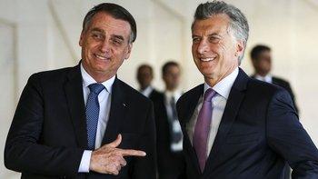 Macri se reunió con Bolsonaro en Brasilia e invitó al presidente brasileño a visitar Buenos Aires, lo que podría ocurrir en plena campaña electoral argentina.