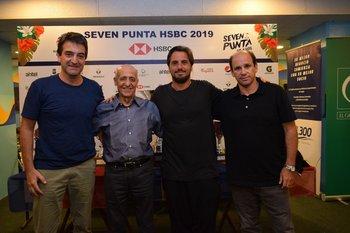 Pablo Ferrari, Julio Cesar Maglione, Agustin Pichot y Sebastian Piñeyrua