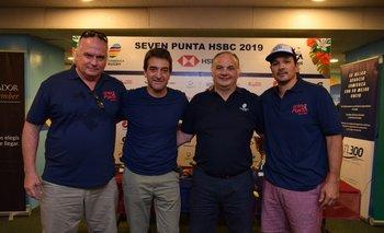 Daniel Sapelli, Pablo Ferrari, Marcelo Calandra y Santiago Cat