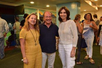 Daniela Armas, Nicolas Herrera y Patricia Miller