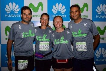 Fabricio de León, Geraldine Larrañaga, Virginia Rico y Alexis Ayarza