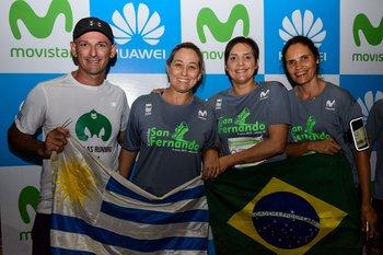 Ignacio Fernández, María Eugenia Briano, María Da Silva y Carmen Lerena