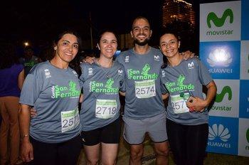 Leticia Barrios, Fernánda Sonderergger, Deivyd Garcia y Gabriela Berdone