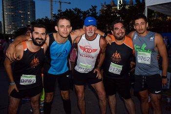 Oscar de Leon, Luis pereira, Julio Curbelo, Fabricio Lauras y Javier Barrios