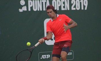 El uruguayo Francisco Llanes en el Punta Open 2019