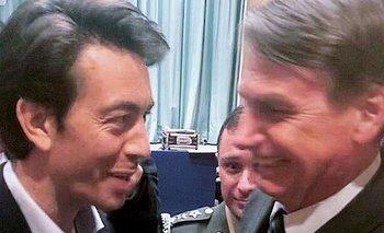 Jair Bolsonaro y Juan Sartori