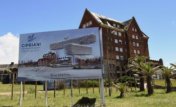 El hotel San Rafael está en la parada 11 de la Brava, en Punta del Este