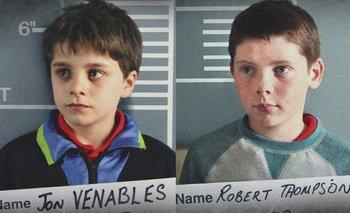 """Dos niños actores interpretan a los asesinos de James Bulger en la película """"Detainment""""."""