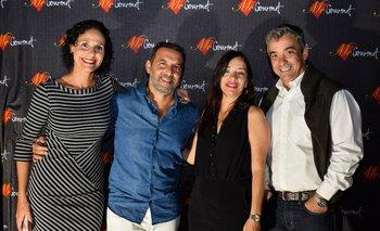Paula Espasandin, Fernàndo Arango, Silvina Seiguer y Ricardo Méndez