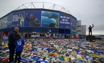 El Cardiff City Stadium y las muestras de apoyo a Sala