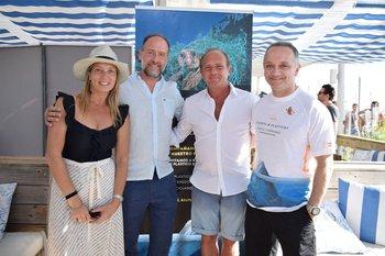 Luciana Brando, Hernan Insausti, Sergio Veiga y Pablo Cancelliere
