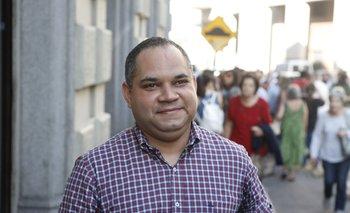El embajador de Venezuela en Uruguay, Julio Chirino