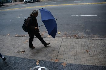 Clima lluvioso en Uruguay