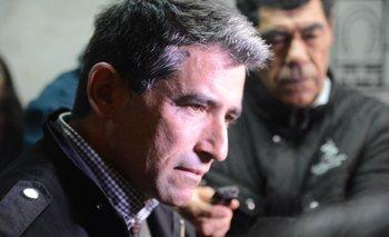 Raúl Sendic en una visita a un comité, en 2019