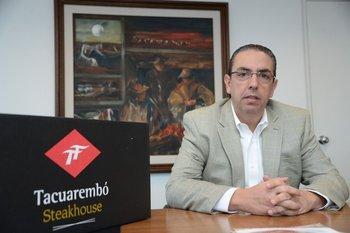 Marcelo Secco, ejecutivo de la compañía Marfrig.
