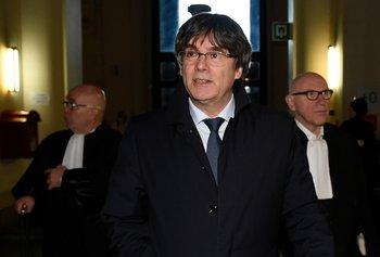 Puigdemont espera en Bruselas su juicio de extradición a España