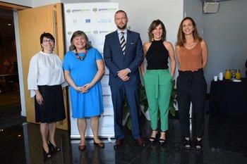 Mireia Villar Forner, María Noel Vaeta, Tomás Pospisil, Magdalena Furtado y Teresa Pérez del Castillo