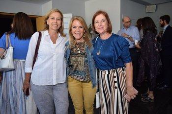 Alicia Gil, Dominique Dardel y Liliana Guerrero