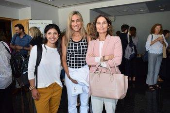 Erika Santos, Beatriz Ponce de Leon y María Elena de Posadas
