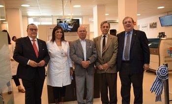 Gerardo García Rial, Raquel Ballesté, José María García Álvarez,  Darwin Cerizola y Julio Martínez Pérez