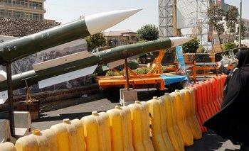 Los misiles iraníes son clave para su fuerza militar.