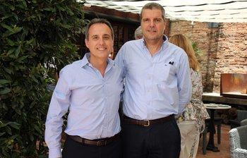 Javier Macias y Gabriel Lardizabal