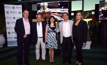Reinaldo De Gregorio, Horacio Sardeña, Betiana Rossendo, Leonardo Fuentes y Carolina Guariglia