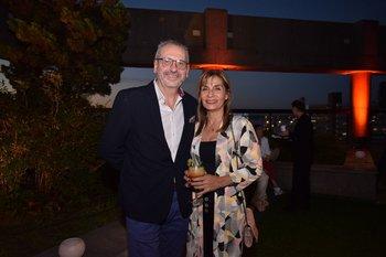 Carlos Servian y Roxana Berois