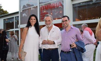 Lucia Cabanas, Ignacio Iturria y Piero Atchugarry