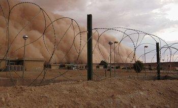 Se estima que hay cerca de 1.500 soldados estadounidenses y aliados estacionados en la base Al Asad.
