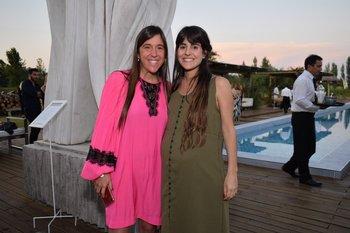 María Elena Bonino y Sofia Sampietro