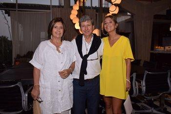 Mariela Cibils, Leonel Puppo y Fiorella Luccisano