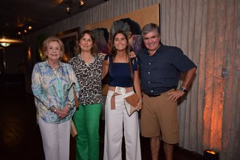 Sonia Pieri, María Laura Vera, Carmela y Juan Salvo